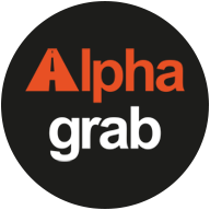 Alpha Grab logo
